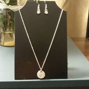 Necklace with earring set